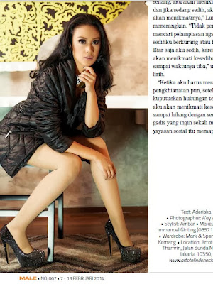 Luise Najib HQ Pictures Male  Magazine Photoshoot February 2014