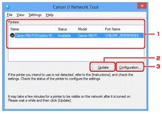 Canon IJ Network tool for Intel Mac