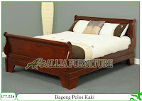 Tempat Tidur Dipan Klender Bagong Kaki