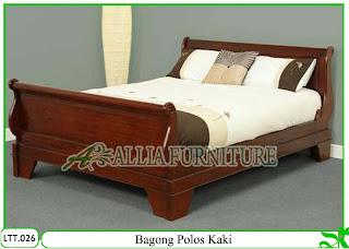 Tempat Tidur / Dipan Klender Bagong Kaki
