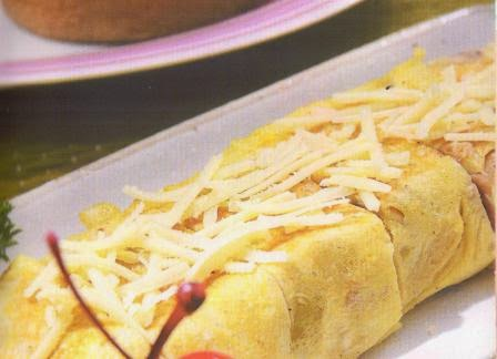 Omelet Keju Cemilan Sehat Balita