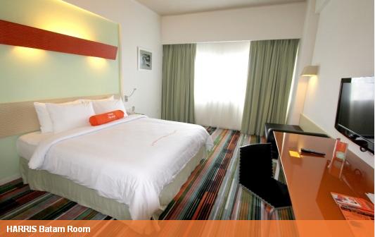 kamar hotel harris batam centre