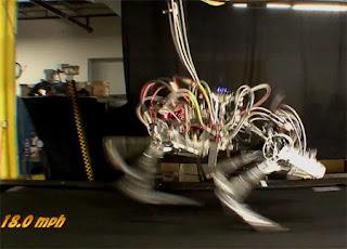 Robot Cheetah el más rápido de la historia