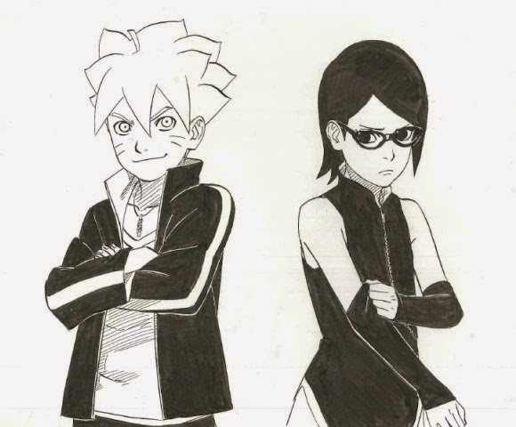1110 Imagens do novo mangá de Naruto