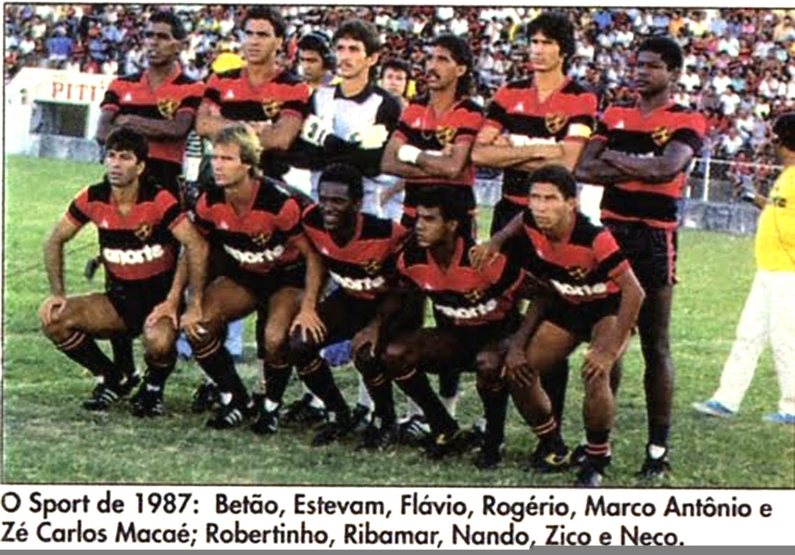 Resultado de imagem para sport unico campeao 1987