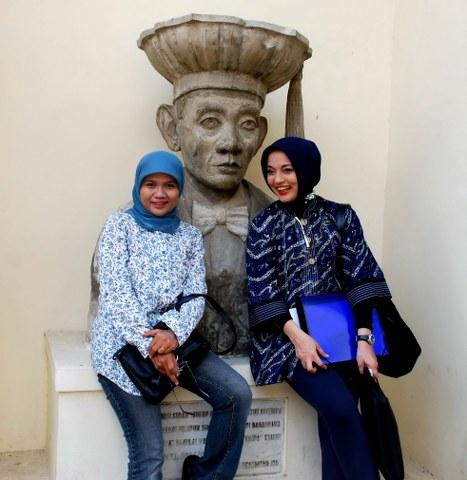 Menjelang KAGAMA, FH UGM, Yogyakarta, Marissa Grace Haque
