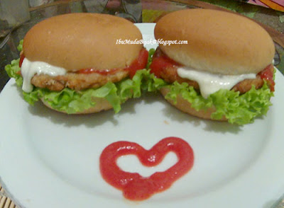 Resep Homemade Chicken Oatmeal Burger