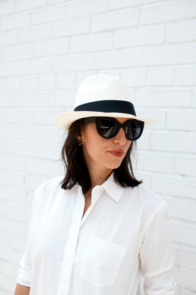 woodzee sunglasses, panama hat, summer style
