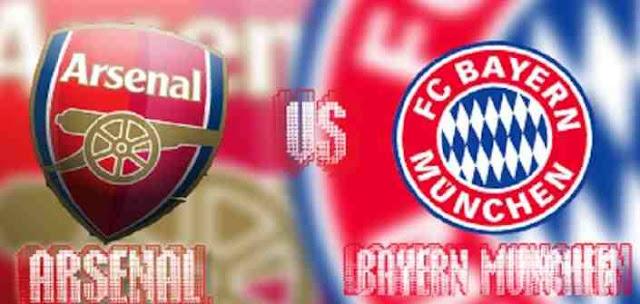 مشاهدة مباراة بايرن ميونخ وارسنال بث مباشر اليوم الاربعاء 4-11-2015 بطولة دوري ابطال اوروبا
