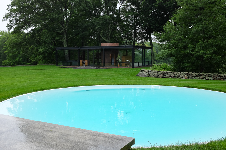 Levitate Style Travel: Connecticut #CTvisit | Philip Glass House New Canaan, CT, PJ Glass House, Architecture