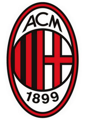 Logo AC Milan Tim Sepak Bola Italy