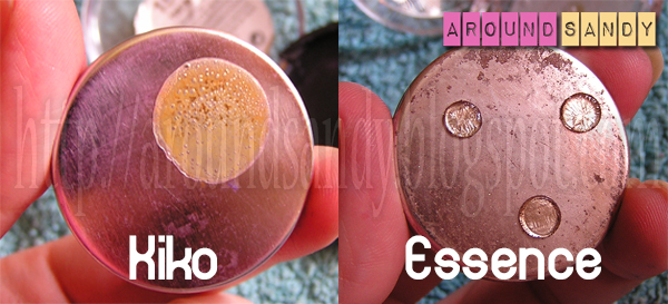 cómo depotar sombras kiko essence  tutorial