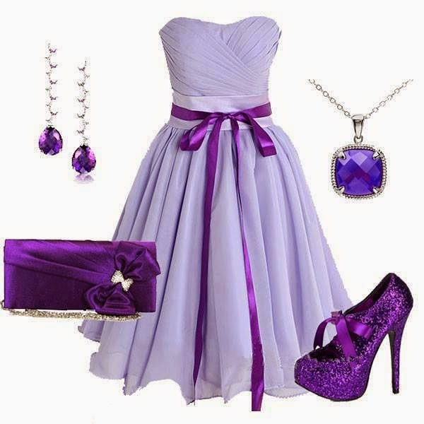 Outstanding Purple Dressing Combination