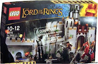 Lego the Lord of the Rings Box the battle of helms deep, bitwa o Helmowy Jar