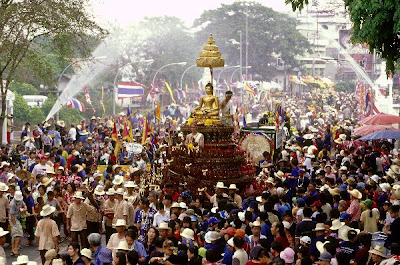 Songkran Water Festival in Chiang Mai
