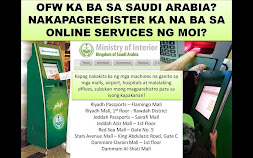 SAUDI OFW, REGISTER at MOI