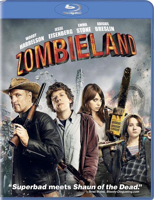 Download Zombieland (2009) BRRip 720p BluRay Poster