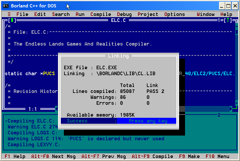 free  turbo c software for windows 7