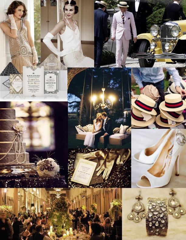 Plan A Wedding On A Budget 1920s Great Gatsby Theme