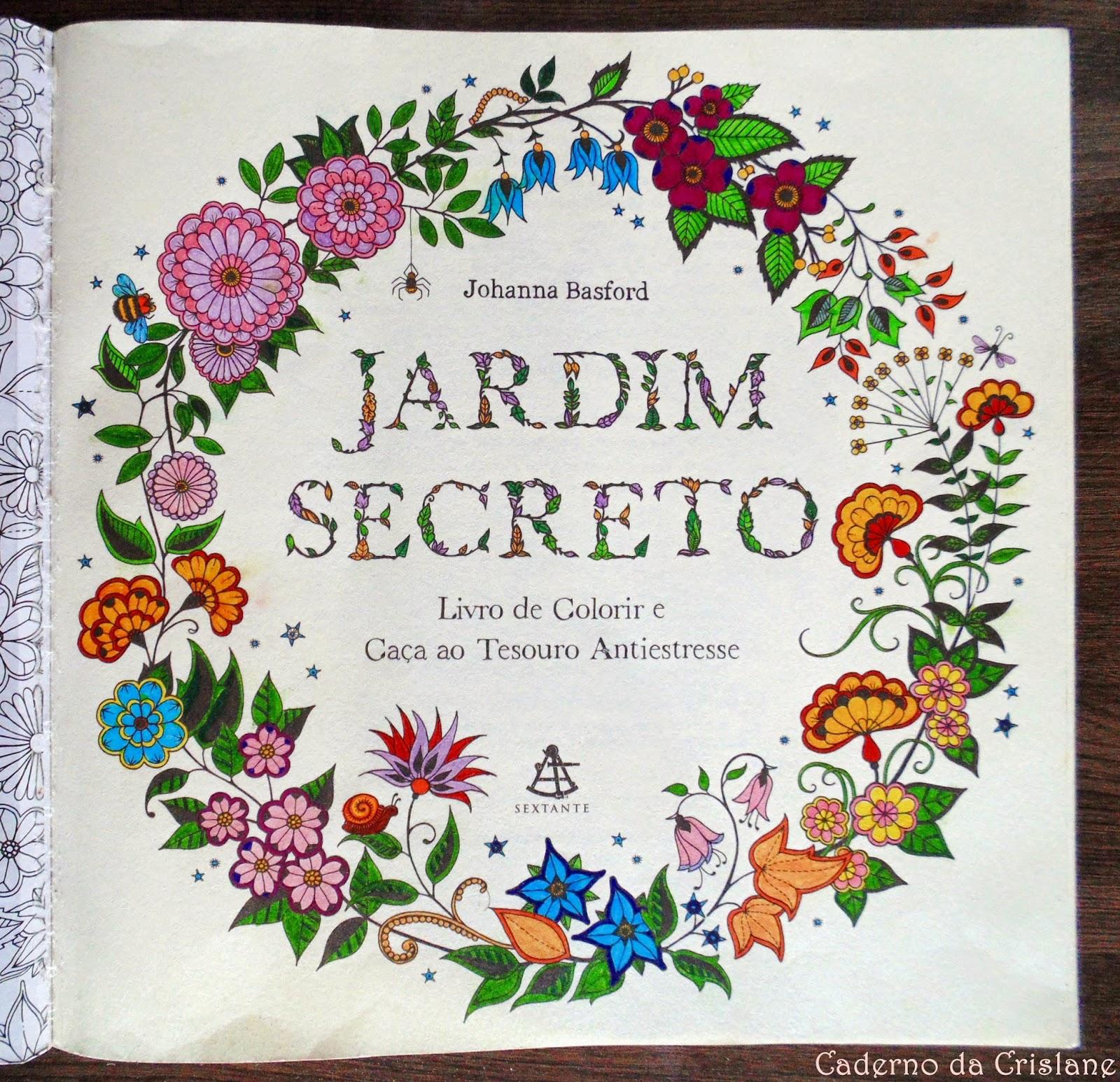 fotos jardim secreto:Jardim Secreto- Johanna Basford