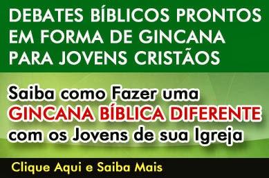 Gincana Bíblica Diferente para Jovens Cristãos