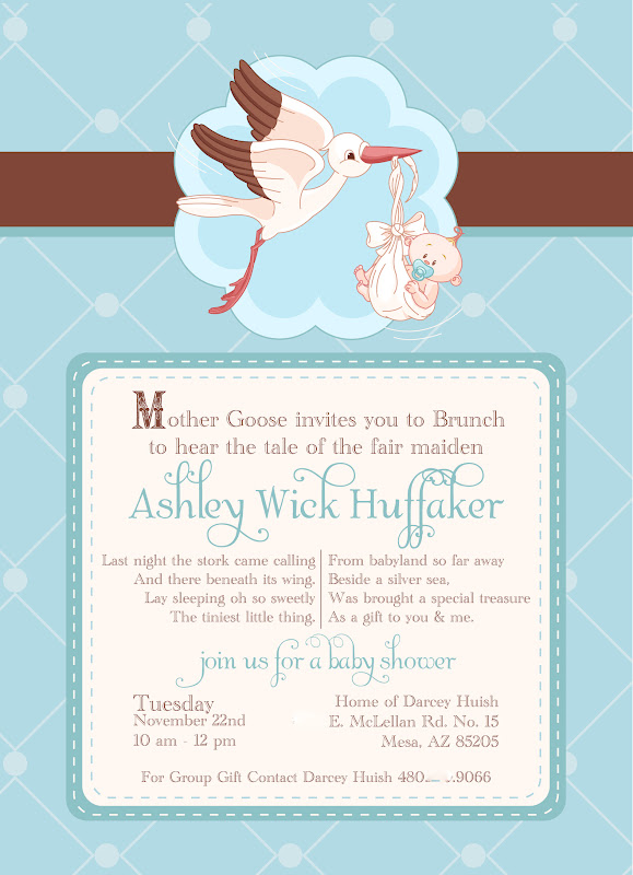 Inkd life on paper mother goose baby shower invites mother goose baby shower invites filmwisefo