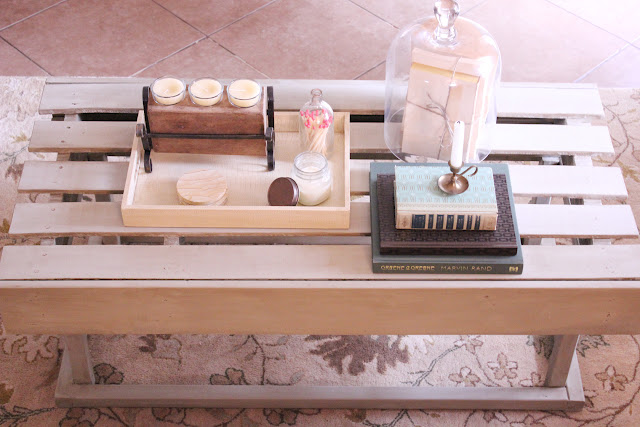 Coffee Table Styling    www.adorbymelissa.com