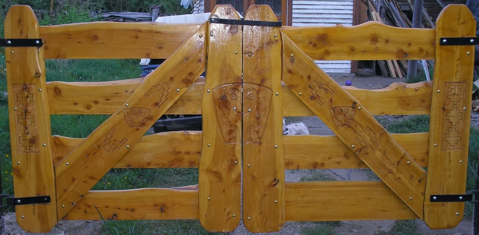 Muebles artesanales tranqueras - Muebles artesanales de madera ...