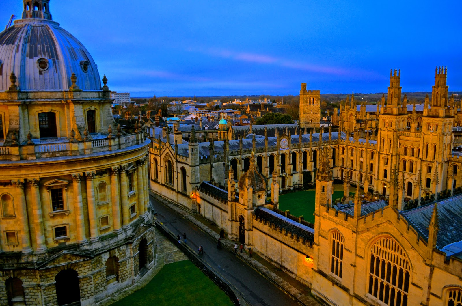 Revolution Aeia: Oxford, England