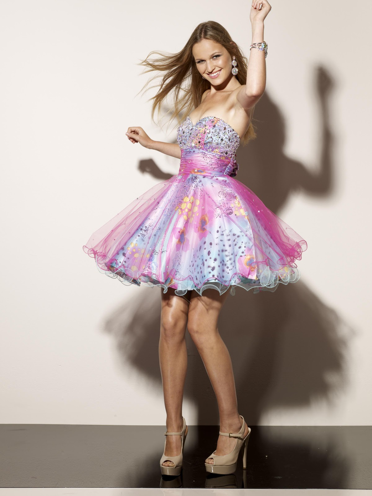 Prom Dresses at Peaches Boutique: Short and Sweet in Mori Lee Sticks ...