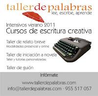 Talleres de relato breve, iniciación a la novela y guión en Sevilla durante los meses de julio y agosto de 2011