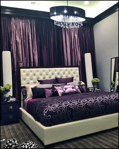 Teenage Girls Purple Bedroom Ideas