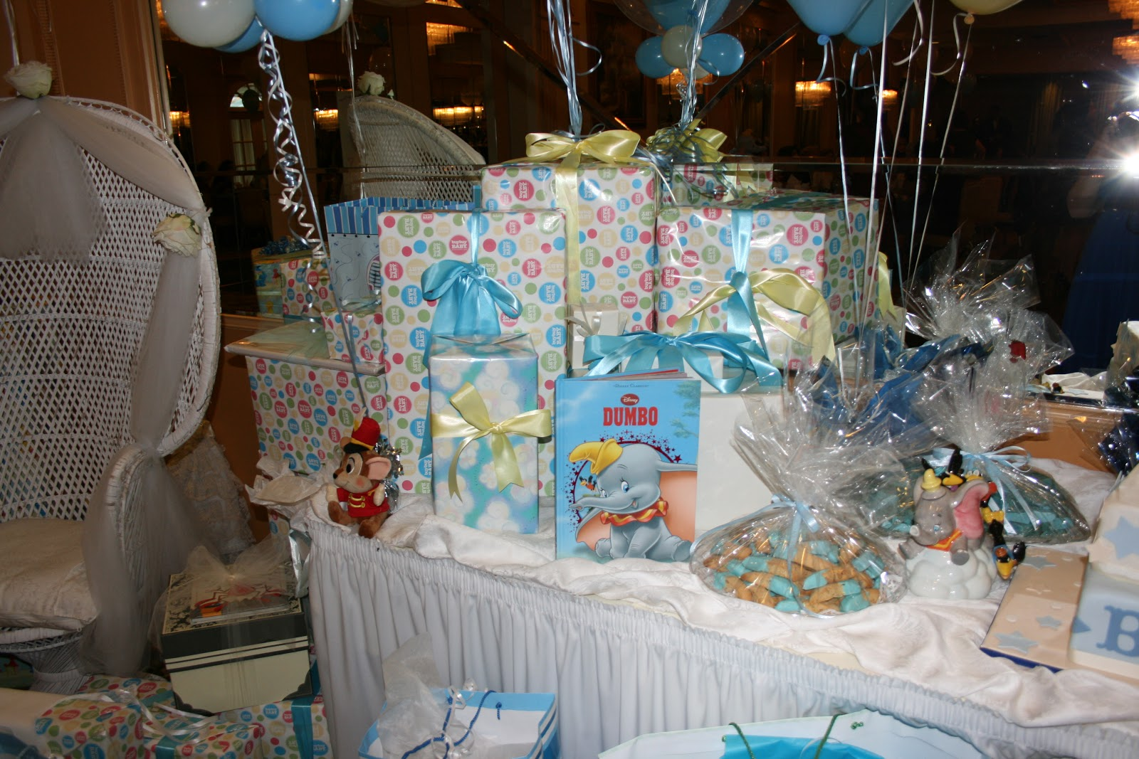 dumbo themed baby shower ever clever mom