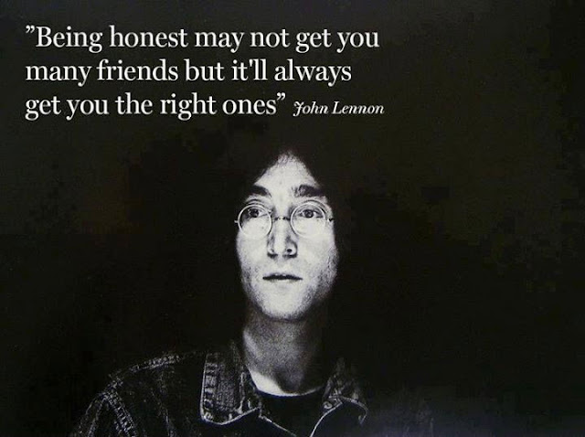 john lennon honesty quote