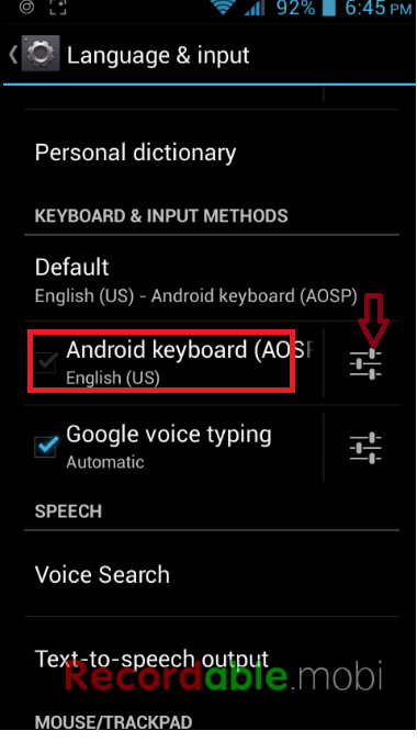 How to Turn Off Auto-Correction in Android Phone