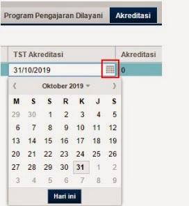 TST Akreditasi