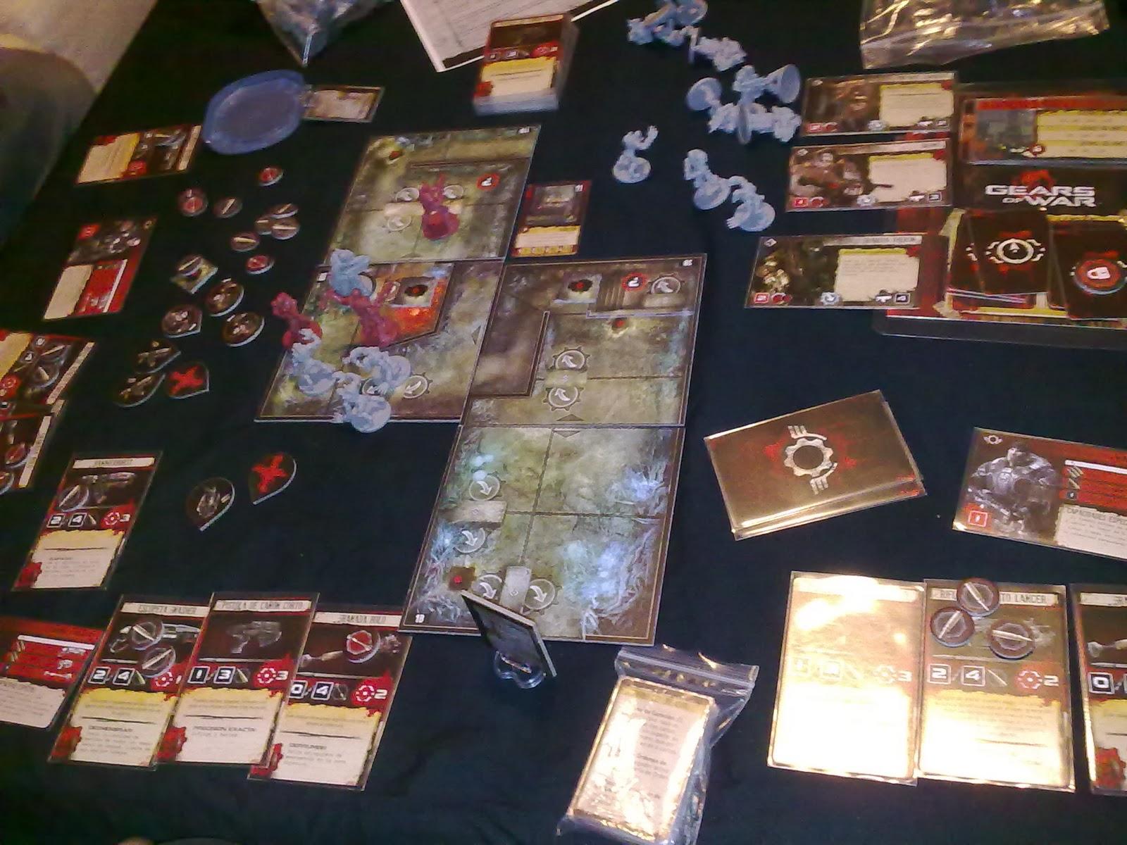 El ba l de los juguetes gears of war juego de tablero for Gears of war juego de mesa