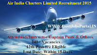 Air India Limited Recruitment 2015
