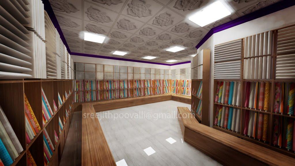 Interior Design3ds Max Mental Ray Design For A Textile Showroom