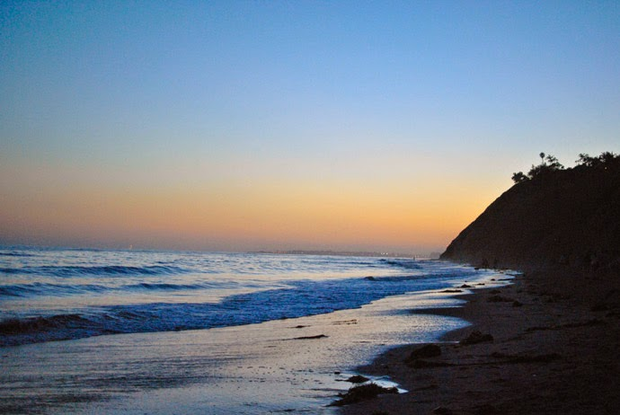beach, sunset, santa barbara, summer, ocean, sand