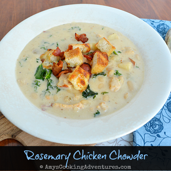 Rosemary Chicken Chowder