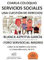 Servicios sociales, una cuestión de derechos