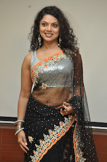 Swathi Varma Pictures in Saree at Deal Telugu Movie Audio Release Function ~ Celebs Next