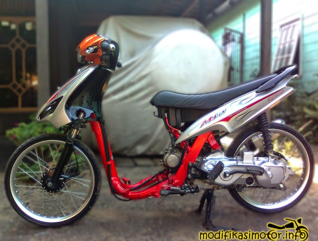 modifikasi ringan mio sporty terkeren