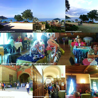 Vistas interiores y exteriores del Palacio de Miramar