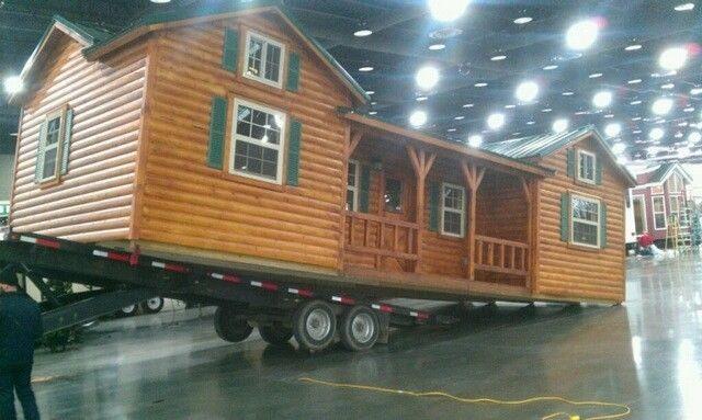 Amish cabin company kits starting at 16 350 tiny house for Amish cabin company