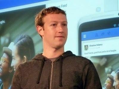 CEO e fundador do Facebook Mark Zuckerberg