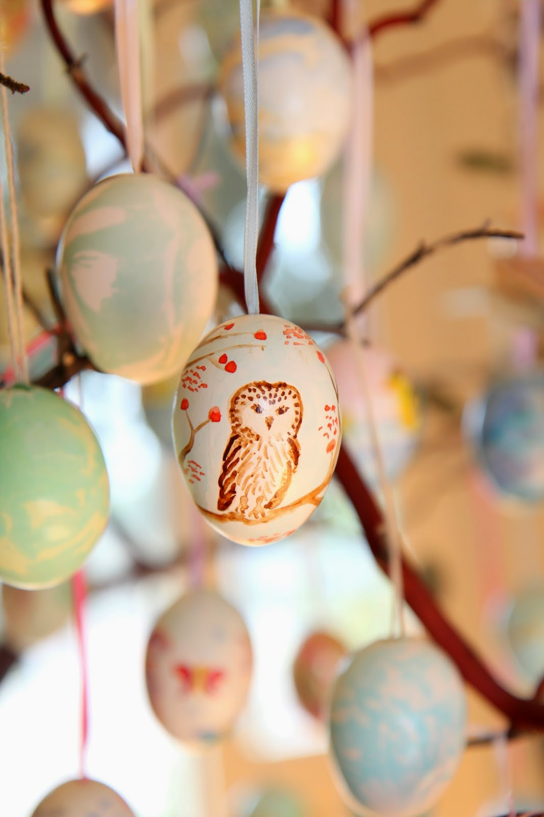 Berry Owl Egg; Easter Egg Tree; Nora's Nest