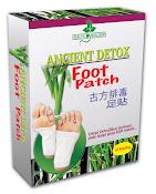 DETOX FOOT ANCIENT DETOK (10 Paket) Harga RM21(WM) RM23(EM)/ (30 Paket)  Harga RM63(WM) RM69(EM)
