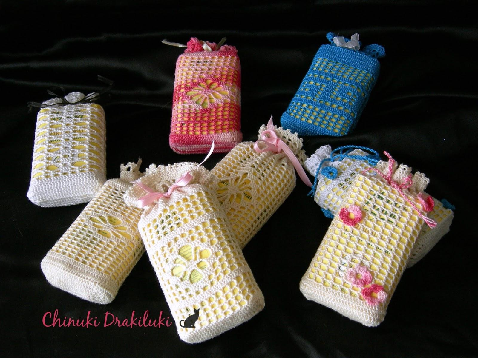 el diario del chinuki drakiluki: Bolsas aromáticas de crochet